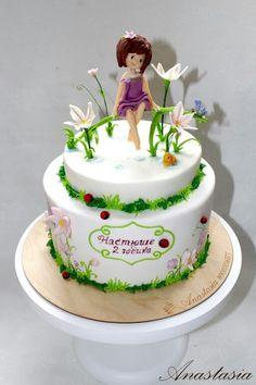Girl cake Fairy cake Торт для девочки