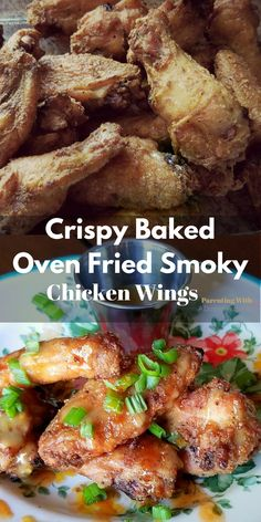 Here's an easy way to get crispy, smoky, chicken wings from your oven! This recipe will have everyone wanting more! Perfect for a get-together or party.