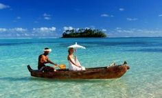 arriving by boat at Villas to her awaiting Cook Islands Resorts, Holiday Places, South Pacific, Wedding Gallery, Paradise, Romance, Boat, Bride, Villas