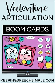 Engage students with this interactive, digital speech therapy activity. Students move the candy hearts to the candy boxes as they practice their speech sound targets. Most sounds include initial, medial and final word positions. Blends and vocalic R are also included. This picture supported speech therapy resource is appropriate for preschool, kindergarten and elementary students. Use for distance learning, teletherapy and in person speech sessions. Great for Valentine's Day!