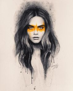 "4,147 Likes, 81 Comments - JAWAD ALGHEZI (@jawadalghezi) on Instagram: ""pencil drawing for @caradelevingne  . . #caradelevingne #cara #victoriasecrets #caradelevigne…"""