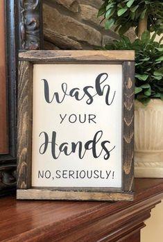 most popular Ideas for guest bathroom ideas half baths signs Funny Bathroom Decor, Bathroom Humor, Bathroom Signs, Bathroom Ideas, Bathroom Makeovers, Bathroom Remodeling, Bathroom Inspiration, Shower Ideas, Guest Bathrooms