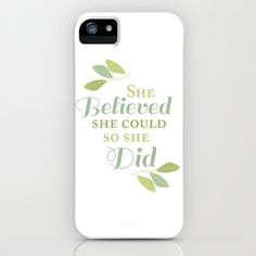 She Believed She Could, So She Did Samsung Galaxy Case by Kelly Jane - $35.00
