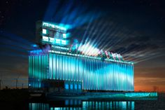 Buffalo's Grain Elevators to Be Used in Large-Scale Narrative Lighting Dislpay