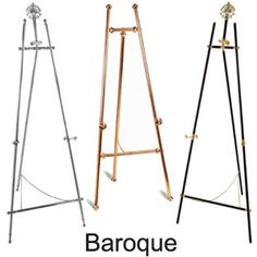 Display Easels  Tons on this site
