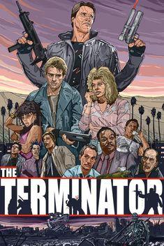 Terminator (1984) Cult Movies, Sci Fi Movies, Good Movies, Films, Terminator 1984, Terminator Movies, Edward Furlong Movies, Normal Movie, Arnold Schwarzenegger Movies