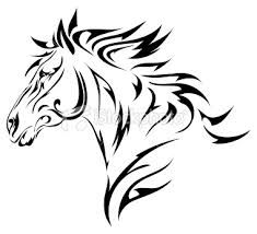 tribal horse tattoos - Google Search