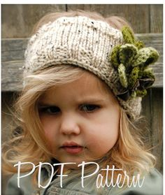 Knitting PATTERN-The Shamrynn Warmer (Toddler, Child, Adult sizes). Head Band and Cowl in one!