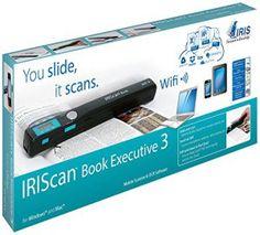 IRISCan Book Executive 3 – Scanner portable – 900 DPI