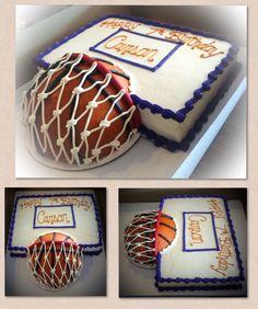 Birthday cake from Cassondra