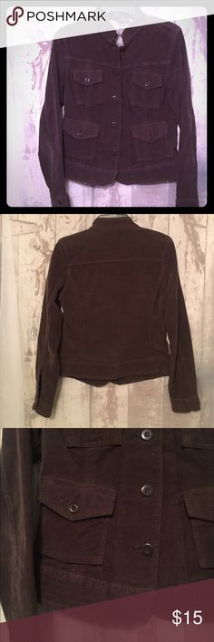 Lucky Brand Corduroy Jacket Top off your outfit with this stylish Lucky brand corduroy jacket. Worn twice. Excellent condition. Size Small. Lucky Brand Jackets & Coats