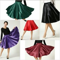 Specifics    DecorationNone  WaistlineEmpire  Pattern TypeSolid  StyleCasual  MaterialPolyester  Dresses LengthKnee-Length  SilhouetteA-Line  ColorBlack, Red, Wine red, Green, Purple  LengthMidi Knee Length  SizeS,M,L,XL  Polyester Non-stretchable Material  Side Zipper  Hand wash cold   Shop this product here: spree.to/a4p9   Shop all of our products at http://spreesy.com/JewelsByScarlett      Pinterest selling powered by Spreesy.com