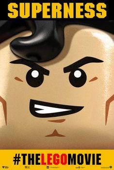 Batman vs. Superman en los nuevos pósters de 'La Lego película'