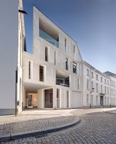 dmvA  - Urban concept of the site Lorette Convent