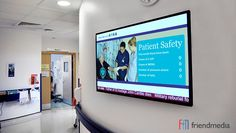 The Benefits of Digital Signage in Hospitals http://friendmedia.com/blog/the-benefits-of-digital-signage-in-hospitals/