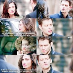 "#TheOriginals 3x16 ""Alone With Everybody"" - Klaus, Hayley and Hope"