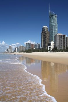 Dentist Gold Coast Image Gallery is a collection of images taken from the beautiful sceneries of Gold Coast. Maine, Gold Coast, Beautiful Homes, Dental, Skyscraper, Scenery, Skyline, Gallery, Beach