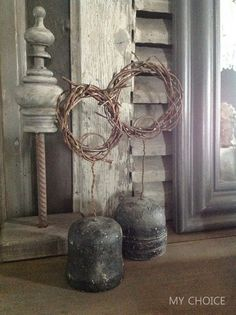 MY CHOICE Wabi Sabi, Grapevine Wreath, Diy Art, Decorating Your Home, Illusions, Candle Holders, Home And Garden, Wreaths, Ornaments