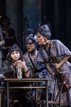 WATCH: Eva Noblezada, Reeve Carney, Amber Gray, Patrick Page, and André De Shields offer a glimpse into their onstage alter egos in Hadestown. Broadway Theatre, Musical Theatre, Broadway Shows, Great Comet Of 1812, The Great Comet, Theatre Nerds, Theater, Theatre Costumes, Dear Evan Hansen