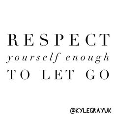 What do you need to let go in order to let yourself grow? Respect yourself enough to make the changes ❤️✨🙏🏼😇