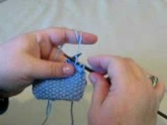 Easy to follow video for continental knitting.
