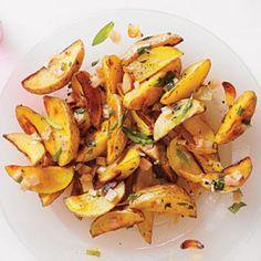 Barbecue Side Dishes: Roasted Potato Salad with Creamy Dijon Vinaigrette Recipe | CookingLight.com