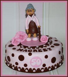 Sarah 50 jaar taart