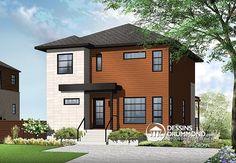 Plan de Maison unifamiliale W3712,  dessinsdrummond drummonddesigns drummondhouseplans, house inspiration, home, maison, luxury, contemporain, zen