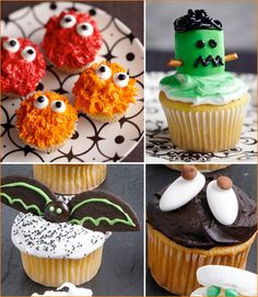 halloween cupcake decorating ideas.