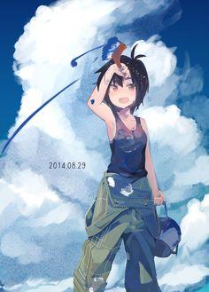 The iDOLM@STER (アイドルマスター) - Makoto Kikuchi (菊地 真) - Happy Birthday! 8/29 -「\真/」/「らき」のイラスト [pixiv]