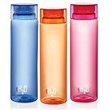 #8: Cello H2O Unbreakable Bottle , 1 Litre, Set of 3, Colour May Vary