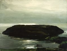 George Bellows, An Island in the Sea, 1911, oil on canvas, 87 x 112.7 cm, Columbus Museum of Art.