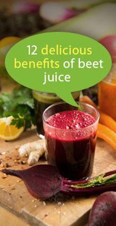 Benefits of Beet Juice