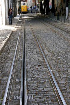 Elevador da Glória by Hélder Cotrim - Lisbon, Portugal