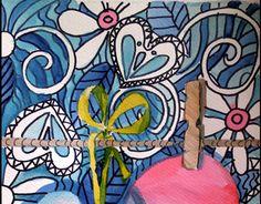 Flower Power Watercolor.