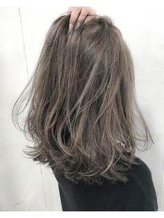 [ALLY阿部]ハイライト×グレージュ×切りっぱなしボブ - 24時間いつでもWEB予約OK!ヘアスタイル10万点以上掲載!お気に入りの髪型、人気のヘアスタイルを探すならKirei Style[キレイスタイル]で。