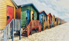Check out these 10 photogenic places in Cape Town, South Africa. Whether you want scenic photography or travel selfies, there is a photo op just for you! Voyager C'est Vivre, Visit South Africa, Photos Hd, Beach Bungalows, Beach Huts, Kwazulu Natal, Budget, Scenic Photography, Cape Town