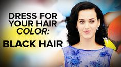 What to Wear to Flatter Black Hair: Today we're tackling what to wear if you have black hair.