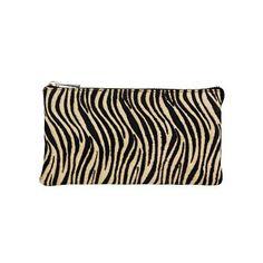 DEPECHE clutch - style 10338 - zebra