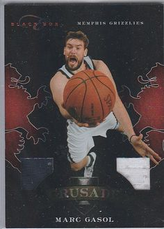 2010-11 PANINI ELITE BLACK BOX MARC GASOL #D/99 NM or Better