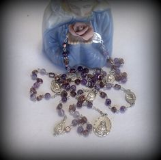 Hey, I found this really awesome Etsy listing at https://www.etsy.com/listing/181871923/rosary-of-the-seven-sorrows-of-mary