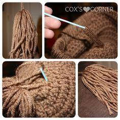 Ideas Crochet Doll Hat Pattern Cabbage Patch For 2019 Cabbage Patch Costume, Cabbage Patch Hat, Cabbage Patch Babies, Crochet For Kids, Crochet Baby, Knit Crochet, Crochet Stitches, Crochet Crafts, Crochet Dolls