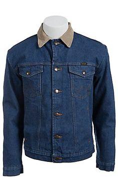 ed1a670628 Wrangler Blanket Lined Prewashed Denim Jacket
