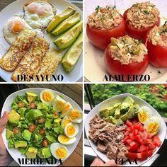 """Adelgazar.consalud publicó en Instagram: """"REGÁLAME UN HOLA O GRACIAS PARA SABER QUE ME LEES. . ➖➖➖➖➖➖➖➖➖➖➖ 📣Perder 5 a 10kg en solo 18 dias?…"""" • Mira todas las fotos y los videos de @adelgazar.consalud en su perfil. Keto Recipes, Healthy Recipes, Healthy Food, Diet Pills, Cobb Salad, Baked Potato, Low Carb, Cooking, Ethnic Recipes"""