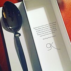Very excited to own The 2015 Special Edition release of The Gray Kunz Spoon.. The ultimate spoon for Chefs! #YesImANerdyChefLikeThat by chefmq