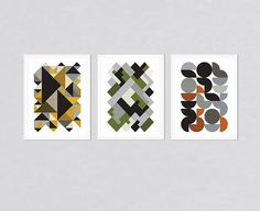 Set of 3 prints, set of prints, geometric prints, geometric poster, gift for fathers day, gift for Valentines day, original gift for man Ideal for decorating your living room or office. Design by FLATOWL.   Please select the size using the drop-down menu options on the top right. Get huge sizes at best price. Exact sizes ‾‾‾‾‾‾‾‾‾‾‾‾‾‾‾‾‾‾‾‾‾‾‾‾‾‾‾‾‾‾‾‾‾‾‾‾‾‾‾‾‾‾‾‾‾‾‾‾‾‾‾‾‾‾‾‾‾‾‾ US6—8 x 10 US5—11 x 14 US4—12 x 18 US3—16 x 20 US2—18 x 24 US1—24 x 36 ‾‾‾‾‾‾‾‾‾‾‾‾‾‾‾‾‾‾‾‾‾‾‾...