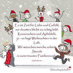Weihnachtssprüche für Weihnachtsgrüße
