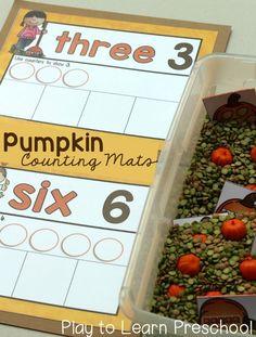 Pumpkins + Counting