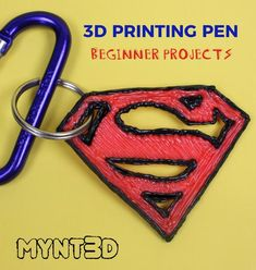 Fathers Day Gift Ideas made with a Pen - Printer Pen - Ideas of Printer Pen - printing pen beginner projects with free template stencil and techniques for getting started with a pen 3d Pen Stencils, Stencils For Kids, 3d Zeichenstift, Boli 3d, 3d Drawing Pen, 3d Drawings, Stylo 3d, 3d Printing Diy, Best Pens