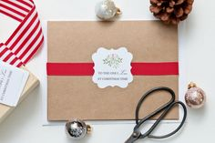 Christmas Card  To the one I love at by SomethingwithLove on Etsy